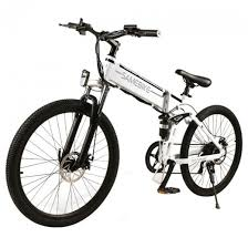 <b>Samebike LO26 Smart</b> Foldable Electric <b>Moped Bike</b> - Spoke Wheel ...