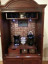 1000 ideas about armoire bar on pinterest tv armoire armoires and bar cabinets built coffee bar makeover
