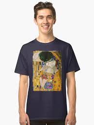 """""""The <b>Kiss</b> by <b>Gustav Klimt</b>"""" <b>Classic</b> T-Shirt by VintageArchive ..."""
