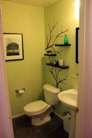 bathroom tile color schemes pastel green wall nice bathroom shelves and a great wall decoration http
