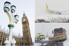 Image result for BRITAIN was tonight warned to prepare for a record cold winter