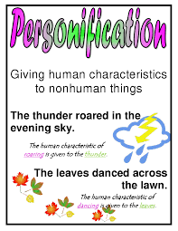 best images about personification back to school 17 best images about personification back to school poem anchor charts and vocabulary worksheets