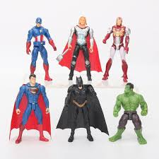 <b>6Pcs</b>/<b>set</b> 10.5cm <b>Marvel</b> the <b>avengers</b> Figures SuperHeroes <b>Toy</b> ...