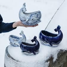 """<b>Керамическое кашпо</b> """"Whale"""" купить в Украине: цена 520 грн ..."""