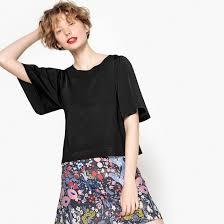 Пуловер короткий, рукава 3/4 <b>La Redoute</b> Collections | <b>La Redoute</b>