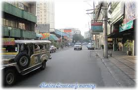 Image of Mabini street in Manila