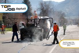 asphalt contractor top job asphalt asphalt sealcoating crack gallery