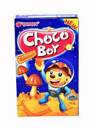 <b>Печенье Choco</b> Boy Caramel 45г <b>Orion</b> - купить с доставкой в ...