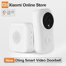 Xiao <b>mi</b> Dling умный видео <b>дверной звонок</b> Wifi камера ...