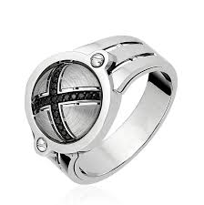 "Купить Мужское <b>кольцо</b> ""ГУРМАН"" из <b>коллекции VIRTUS</b> с ..."