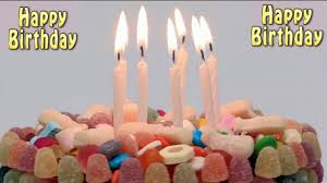 <b>Happy Birthday cake</b> with blowing <b>candles</b> - YouTube