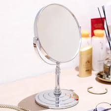 <b>Double Side</b> 10x Magnifying Make Up Cosmetic Mirror <b>360 Rotation</b> ...