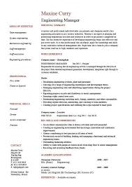 engineering manager resume  sample  template  example  managerial    engineering manager resume
