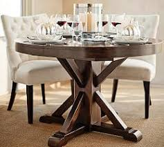 40 inch round pedestal dining table: banks extending pedestal dining table  special  quicklook