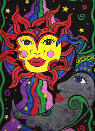 view sun moon wall  images about the sun amp the moon on pinterest sun third eye and hams