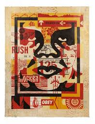 Shepard Fairey - <strong>Icon Collage (Bottom) edition 3/10</strong ...