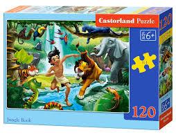 "<b>Пазл</b>-<b>midi</b> ""Книга джунглей"", 120 элементов | Купить с доставкой ..."