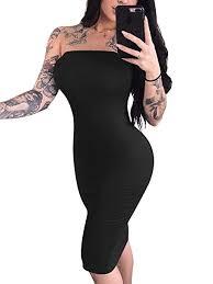 YMDUCH Women's Sexy Sleeveless Tube Top Basic ... - Amazon.com