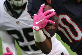 nfl goes pink to support national breast cancer awareness month