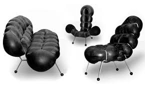 recycoool inflatable furniture from bulging car inner tubes blowup furniture