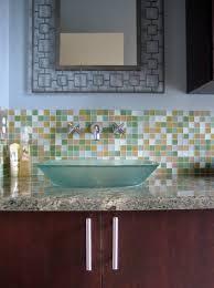 mosaic tile backsplash design bathroom