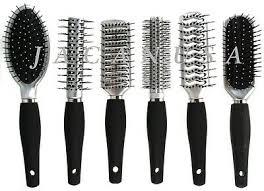 <b>New Style</b> Salon <b>Hair Brush</b> Flat Narrow Round Vented For Women ...