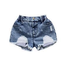 Grandwish Ripped Girls Summer Jeans Girl's Panties Tassel Jeans ...
