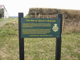 the meeting place a history blog touring the although many of the original earth works have been destroyed a queen s redoubt trust established by volunteers has plans to restore the site