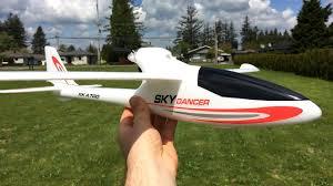 <b>XK A700 Sky Dancer</b> 750mm RTF RC Glider Unboxing, Maiden ...
