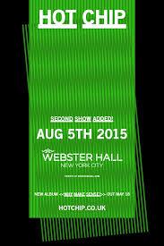 Hot Chip at Webster Hall, New York (2015) - RA