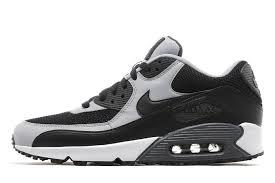 nike air max 90 black grey black grey nike air
