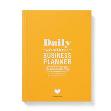 dailygreatness business planner an actionable plan for exploding your business bussiness planner