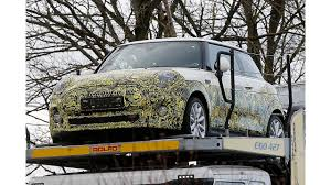 <b>Mini Cooper</b> Electric Test Mule Spied For First Time