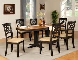 Tall Dining Room Table And Chairs Amusing Black Dining Room Table Sets Wallpaper Cragfont