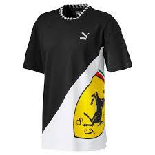 <b>Футболка</b> Ferrari <b>Energy</b> Logo Tee | Черный | Puma