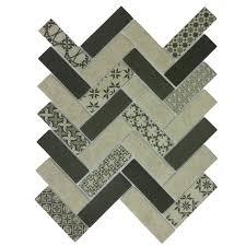 <b>Стеклянная мозаика</b> Tweed Gray за 654 - <b>ORRO MOSAIC</b>