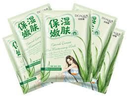 Купить BioAqua <b>Успокаивающая тканевая маска для</b> лица с ...