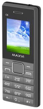 мобильный <b>телефон Maxvi C9</b> grey-black по самой выгодной ...