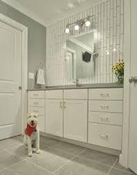 dog faces ceramic bathroom accessories shabby chic:
