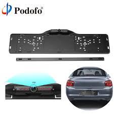 Podofo <b>European Car</b> License Plate Frame Rear View Camera <b>170</b> ...