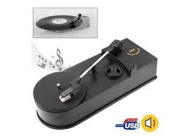 <b>EC008B USB</b> Portable <b>Mini Phonograph Turntable</b> Vinyl Audio ...