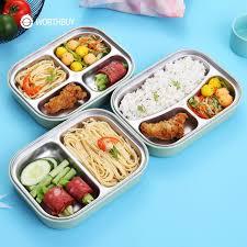 Stainless Steel Lunch Box <b>Cute Rabbit</b> Design Bento Food ...