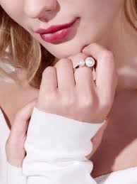 Online Shop for double pearl ring Wholesale with Best Price - 11.11 ...