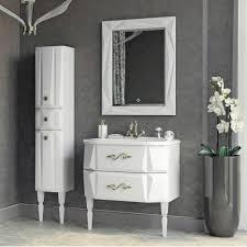 <b>Шкаф</b>-<b>пенал Aima Design</b> Brilliant 30П R white, цена | Akvasink