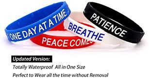 AVEC JOIE Inspirational <b>Silicone Bracelets Rubber Bands</b> ...