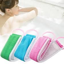 <b>Body Wash Scrub Sponges</b> Body Brush Back Exfoliating Washcloth ...