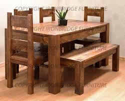 Kitchen Table With Benches Set Dining Table With Bench Set Full Size Of Kitchen Table With Bench