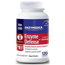 Enzymedica <b>Enzyme Defense</b> - <b>120 capsules</b> | Evolution Organics