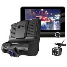 Rearview Camera MA1376 4'' 1080P HD <b>3 Lens Car</b> DVR <b>Dash</b> ...