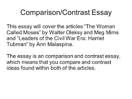 writing portfolio mr butner writing portfolio due date comparison contrast essay this essay will cover the articles the w called moses by walter